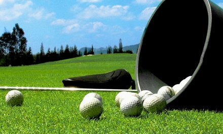 18-Hole Round of Golf with Cart and Range Balls for Two or Four at Highland Rim Golf Course (Up to 59% Off)
