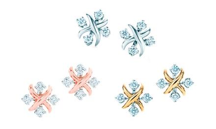 Par de brincos Catalina disponível em três cores diferentes por 12,29€