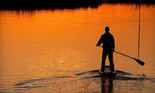 Two-Hour Standup-Paddleboarding Class for an Individual or Evening Class for a Couple from Local Paddler (Up to 57% Off)
