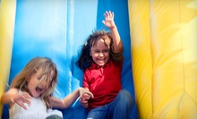 Eight All-Day Kids’ Play Sessions or an Inflatable-Party Package for 10 or 20 Kids at Extreme Fun (Up to 69% Off)