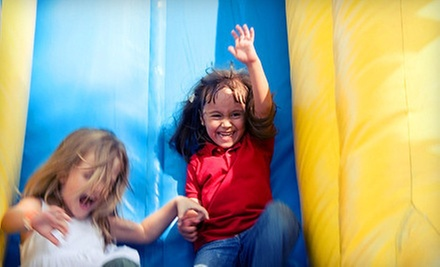 Eight All-Day Kids' Play Sessions or an Inflatable-Party Package for 10 or 20 Kids at Extreme Fun (Up to 69% Off)