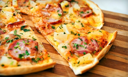 $15 for $30 Worth of Pizza, Salad, and Sandwiches at Oblio's Pizzeria. Two Options Available.