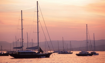 2-Hour Picnic Cruise for 2 or 4 Plus Credit Toward Sailing Lessons from Seven Seas Sailing Center (Up to 83% Off