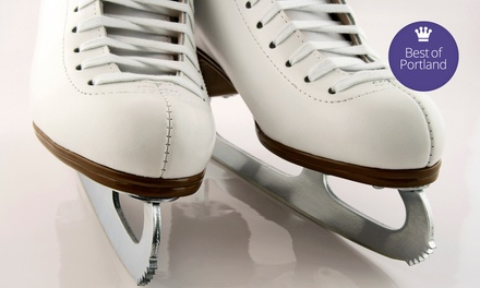 $14 for Ice-Skating Outing with All-Day Admission and Skate Rental for Two ($28 Value)
