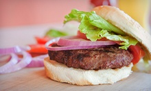 Gourmet Burgers and Drinks for Two or Four Wednesday–Saturday at Eastside West (Up to 41% Off)