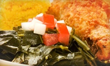 $7 for $14 Worth of Southern Food and Drinks at Daddy D's Suber Soulfood