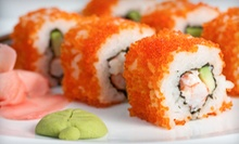 Japanese Cuisine and Sushi at Dinner at Soya Sushi Bar & Bistro (Half Off). Two Options Available.