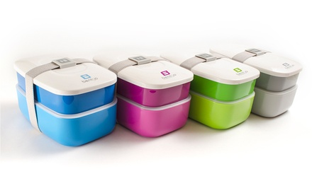 Set of 2 Bentgo All-in-One Stackable Lunchboxes