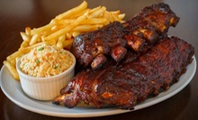 Barbecue Food and Drinks for Two or Four at Hickory River Smokehouse (Half Off)