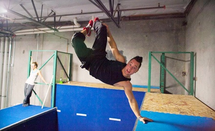 Four Parkour Classes for One or One Parkour Class for Four at Hardkore Parkour (52% Off)