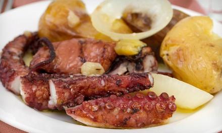 Adega Típica O Gato Preto: menu tradicional português à la carte para duas pessoas por 34,90€