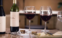 $49 for a Wine Tasting for Two with Appetizer, Dinner, and Bottle of Wine at 1742 Wine Bar (Up to $170.90 Value)