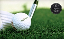 60 or 900 Minutes of Driving-Range Time at Eaglequest Golf (Up to 64% Off)