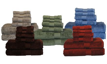 Luxury 6-Piece Egyptian-Cotton Towel Set