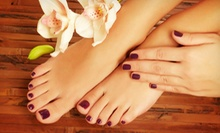 Mani-Pedi with Optional Gel-Polish Manicure at ATL Beauty Bar (Up to 54% Off)