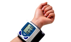 Automatic Wrist-cuff Blood-pressure Monitor