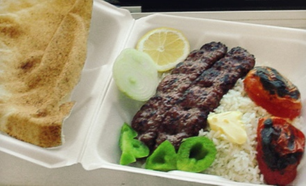 $7 for $15 Worth of Persian Food at Kabob Haus