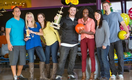 $29 for One Hour of Thunder Alley Bowling for Six with Shoes and Soda at Fat Cats (Up to $64.50 Value)