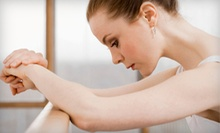 5 or 10 Barre Fitness Classes at Fluid Power Fitness (Up to 67% Off)