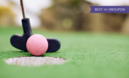 18-Hole Round of Mini Golf or 9-Hole Round of Golf for Two or Four at Family Sports Golf Course (Up to 42% Off)