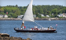 Midday, Afternoon, or Sunset Sail for Two from Gundalow Company (Up to Half Off)
