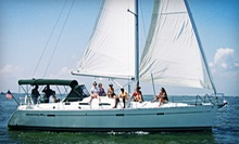 Three-Hour Intro to Sailing Session for One or Two at South Coast Sailing Adventures in Kemah (Up to $318 Value)