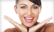 Laser Teeth-Whitening Treatment or Dental-Exam Package with X-rays and 3-D Scan at Smiles by Design (Up to 85% Off)