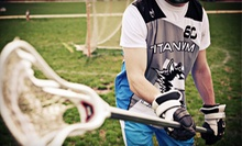 One Week of Kids' Lacrosse Camp or One Entry in Kids' Summer League at Titanium Lacrosse (51% Off)