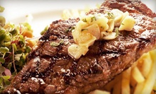 $65 for a Brazilian Dinner for Two with Appetizer, Desserts, and Wine at Brazil Brazil Restaurant (Up to $135 Value)