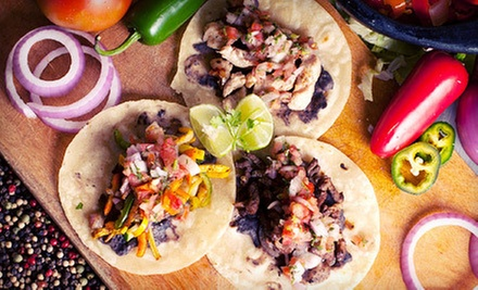 Three $12 or $20 Vouchers for Tex-Mex Cuisine at Cosa Rica Tex Mex (Half Off)