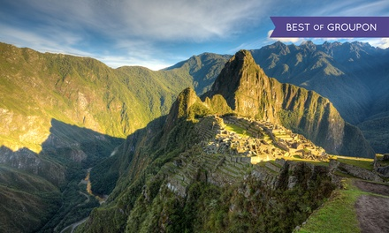 Groupon Deal: ✈ 5- or 6-Day Tour of Peru with Airfare from Gate 1 Travel. Price per Person Based on Double Occupancy.
