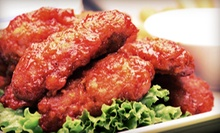 American Bar Fare at Papa G's Sports Bar & Grill in Watauga (53% Off). Two Options Available.