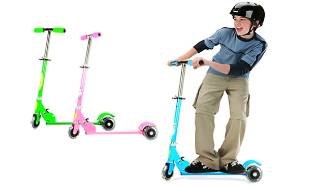 Rs 749 for a Scooter for Kids. Choose from 3 Colors