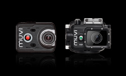 Veho Muvi 1080p 16MP Hands-Free Action Cam with WiFi