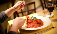 Pasta and Wine Dinner for Two or Four at Cafe Italia (Up to 55% Off)