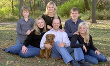 $38 for a Studio or On-Location Senior, Family, or Pet Photo Shoot with Prints from Dodgen Photography ($375 Value)