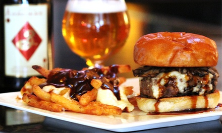 Pub Food and Beer Flights at Chatterbox Pub (50% Off). Three Options Available.