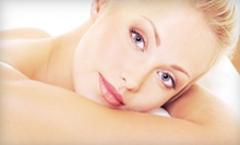 Plant-Peel Facial, Regular or Shellac Manicure, or Shellac Manicure, Facial, and Blowout at The Look (Up to 52% Off)