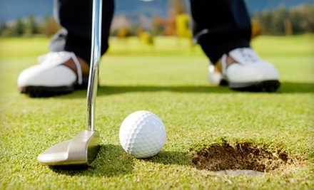 18-Hole Round of Golf for 1, 2, or 4 with Cart Rental, Range Balls, and Lunch at Fairways Golf Club (Up to 54% Off)