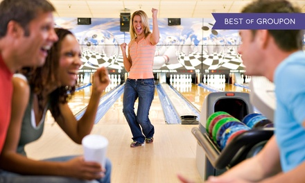 $23 for Bowling for Up to Four with Shoe Rental and Pizza at Ormond Lanes Bowling ($46 Value)
