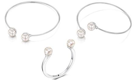 Anel, pulseira ou conjunto no modelo Demios Collection desde 8,99€ com opção de caixa desde 11,99€