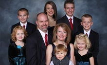 Holiday Portrait Packages for Families, Couples, or Individuals at MotoPhoto (Up to 78% Off). Two Options Available.