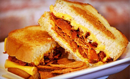 $6 for $12 Worth of Grilled Sandwiches and Soup at Tom + Chee