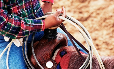 One or Four 30-Minute Roping Lessons with Cattle or a Mechanical Bull at 4 G Ranch (Up to 58% Off)
