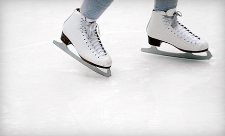 Ice Skating and Skate Rentals for Two at Saveology.com Iceplex (Up to Half Off). Two Options Available.
