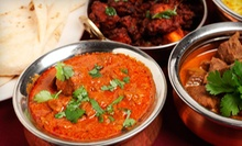 $35 for $70 Off Your Dinner Bill for a Party of Two or More at The Curry Club