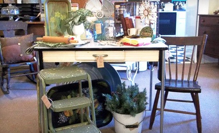 Antiques and Merchandise at 27 West &amp; Co. (Half Off). Two Options Available.