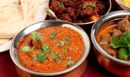 Indian Food for a Dine-In Dinner for Two or Four or Indian Takeout at Desi Grill (Up to 50% Off)