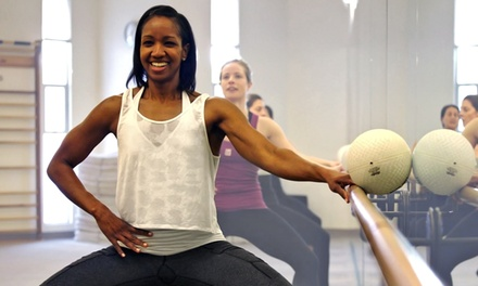 Three or Six Classes at The Bar Method (55% Off)