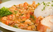 Cajun and Creole Seafood at The Fish Place (Half Off). Three Options Available.
